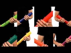 BoomWhackers were what I grew up playing in music class. You can do simple songs, or really intricate ones.  Adds an entertainment element/may help keep kids interested in music! It's just fun! BoomWhackers - Cool Music Maker