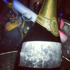 $4000 bottle of champagne bitch. Our table is boss. by killerandasweetthang Perrier Jouet, Rich Kids Of Instagram, Dom Perignon, Kid Drinks, Champagne Bottles, Drinking, Bubbles, Boss, Fun