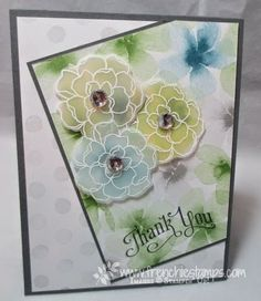 Stamp & Scrap with Frenchie: Designer Paper Diagonal
