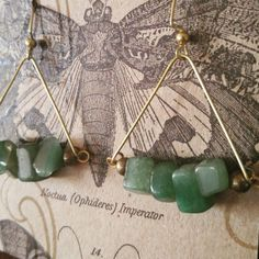 Check out this item in my Etsy shop https://www.etsy.com/listing/511420677/jade-brass-earrings