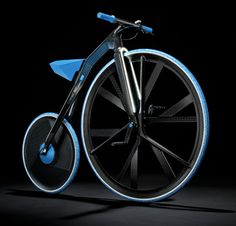 Concept 1865 E-Velocipede by BASF & DING3000 | via Yanko Design