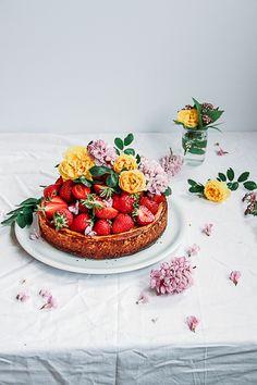 Gluten & Sugar - Free Healthy Orange Cheesecake   This is a Sweet Blog