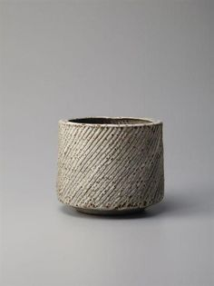 Lucie Rie teabowl -- ok, not a tea caddy but used for tea! And too lovely to leave out.