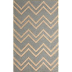 @Overstock.com - Safavieh Handmade Moroccan Cambridge Paradise Grey Wool Rug - Cover your floor in something stylish with this gray chevron rug in your choice of classic sizes. The half-inch pile on this wool rug keeps your feet happy, and a durable canvas backing helps prevent slippage and increases the rug's usable life.    http://www.overstock.com/Home-Garden/Safavieh-Handmade-Moroccan-Cambridge-Paradise-Grey-Wool-Rug/7530666/product.html?CID=214117  $26.65