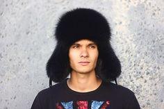 5ca1ad82 Men ushanka fox by ODENI on Etsy #HM #hats #style #fashion #fur #ushanka  #fox