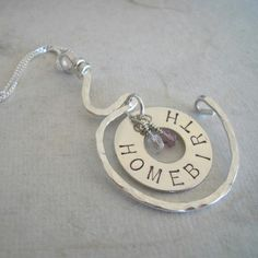 Home Birth Necklace