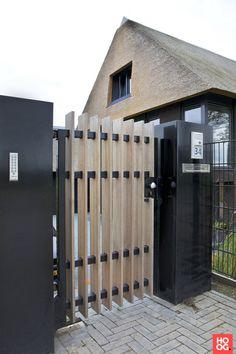 - Lilly is Love Fence Gate Design, Modern Fence Design, Steel Gate Design, Garden Deco, Terrace Garden, Sweet Home Design, Custom Gates, Craftsman Exterior, Entry Gates