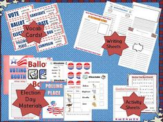 Tori's Teacher Tips: Election Time {a complete election day unit!} Click to see all about it!!