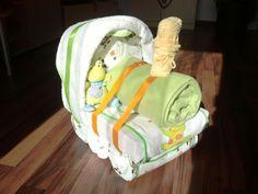 Diaper Cake - locomotive