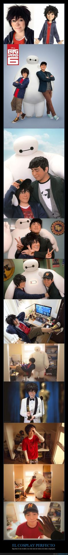 EL COSPLAY PERFECTO - Big Hero 6 da el salto a la vida real de manos de estos cosplayers