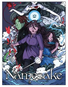 Welcome to Namesake! We hope you enjoy your stay. Please keep your hands on the inside of the comic at all times and your seat belt fastened until the comic comes to the end.