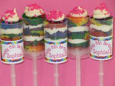 Great Party Favor Idea - Push Pop Cake Labels!