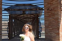 Never thought of a wedding on my bridge!