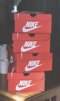 Nike shoe boxes ♥♠♣☻☺♦•◘○ /lnemyi/lilllyy66/ Find more inspiration here: http://weheartit.com/nemenyilili/collections/27215480-n-ke