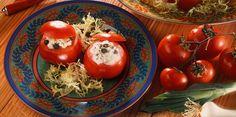 Tomates au fromage blanc