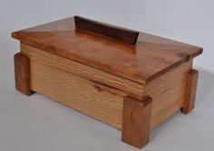 I have been building boxes lately. It all started when I needed something for a fundraising auction. I decided on a box. But then I couldn't decide on a design. So I started just building different designs. I like this box and I like the lid, not . Fundraising, Storage Chest, Cherry, Woodworking, Cabinets, Projects, Boxes, Furniture, Design