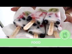 Cómo hacer helados de fruta naturales - YouTube