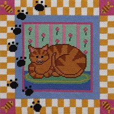Kidlettes-- Kitty Cat -- Needlepoint Kit Alice Peterson Company http://www.amazon.com/dp/B00VL8KWS0/ref=cm_sw_r_pi_dp_pBGhvb0EN3BN6