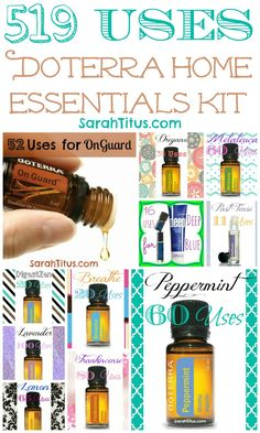 519 Ways to Use the Home Essentials Kit {DoTerra} - Sarah Titus