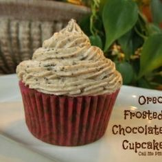 Gourmet Cupcake Recipes   Oreo Frosted Chocolate Cupcake recipe   recipes 2