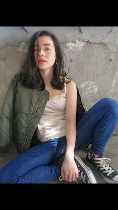 ロブ Light Hair, Dark Hair, Medium Hair Styles, Curly Hair Styles, Hair Arrange, Japanese Hairstyle, Looks Chic, Hair Images, Hair Photo