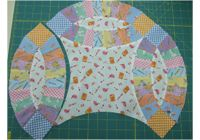 Tutorial Simpli-EZ Double Wedding Ring Quilt by Darlene Zimmerman at Simplicity Studio. Quilting Blogs, Quilting Tutorials, Quilting Projects, Quilt Block Patterns, Quilt Blocks, Simplicity Studio, Wedding Ring Quilt, Circle Quilts, Double Wedding
