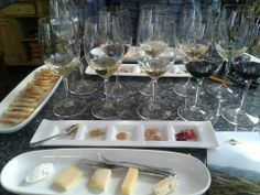 You can get this spread at Kendall Jackson Winery in the Sonoma Valley Wine Region