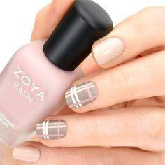 #FridayFeeling Call us 916-985-8999 to try this simple plaid #nailart for the #weekend by Zoya Nail Polish and Treatments #organic #nailcolor #5freenailcolor #manicure #manipedi #zoya #zoyanailpolish #folsom #sacramento #eldoradohills #nofilter #noeffect #instagram #instagramhub #salon #salons #nailspa #nail #nails #nailarts #nailarts #nailartwow