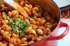 One Pot Pasta Puttanesca och ett bra sätt att minska matsvinn!