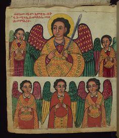 Ethiopian Manuscript, Gondar Homiliary, Walters Manuscript W.835, fol. 2v by Walters Art Museum Illuminated Manuscripts, via Flickr