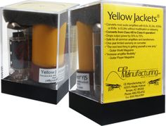 Yellow Jackets® converters are a type of specialized adapter which permit the use of EL84/6BQ5 power tubes in place of 6V6, 6L6, EL34, and 7591 type vacuum tubes.