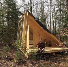 How to Build a Tiny Home on a Tiny Budget #tinyhouseudeas #tiny #tinyhouse #ideas