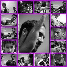 Collage....immagini di Salvatore Giglio da Villar Perosa, tradizionale partitella pre campionato.....✨✨✨