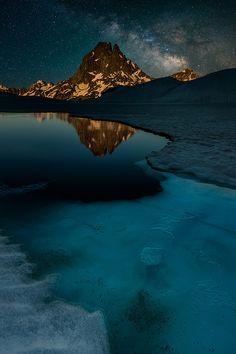 ~~Snowbreak ~ Midi d´Ossau, Pyrenees National Park, France by David Martín Castán~~