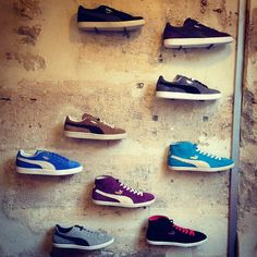 Kolector x #PUMA pop-up store Paris #Clyde #Suede #Glyde #shoes #sneakers #fashion