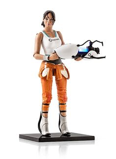 ThinkGeek :: Portal 2 Chell Figure