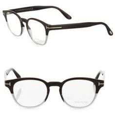 664b2ff35b1 Tom Ford Eyewear 48MM Soft Round Optical Glasses