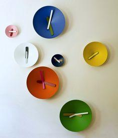 Mozia clocks by Giovanni Levanti for Diamantini & Domenicon