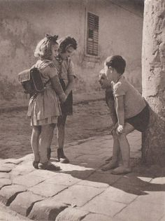 Boys and Girls, 1955 by T. Veres