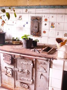 Cocina antigua | Antique kitchen