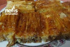 Baklavalık Yufkadan Muhteşem Tatlı – Nefis Yemek Tarifleri