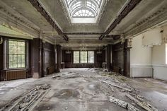 An abandoned orphanage somewhere in the UK [1024683] by Picturwall