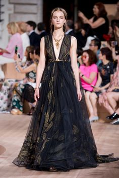 Valentino's Fall Couture Show Was Basically a 'Game of Thrones' Episode - Fashionista