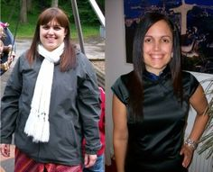 Before and After Losing 56 Pounds: How I lost weight on the Green Smoothie Diet and with Green Thickies...This chick is amazing! I don't agree with everything she says, but her site is awesome and she has great recipes.
