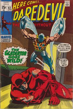 Daredevil 63 1964 1st Series April 1970  Marvel Comics