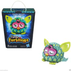 Hasbro Furby Furbling Plush Creature Furby Teal/Lime Peacock Feather - Age 6+  #Hasbro - $24.99 - June 19, 2014 - #FreeShipping