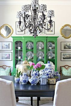room diy green Dimples and Tangles: 2016 SUMMER HO - roomdiy Living Room Decor, Living Spaces, Deco Originale, Eclectic Decor, White Decor, Home Decor Styles, House Colors, Interior Inspiration, House Design