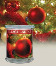 Christmas Tree-Radiance Candle Collection - Red berries, spicy clove, and rich cedar are blended with fresh blue spruce in this holiday favorite.http://www.villagecandle.com/scented-candles/705/Christmas-Tree-Radiance-Candle-Collection