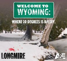 #longmire This could be Kansas lately