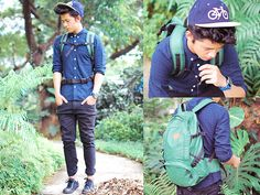 Urban Camping (by David Guison) http://lookbook.nu/look/3987258-Urban-Camping